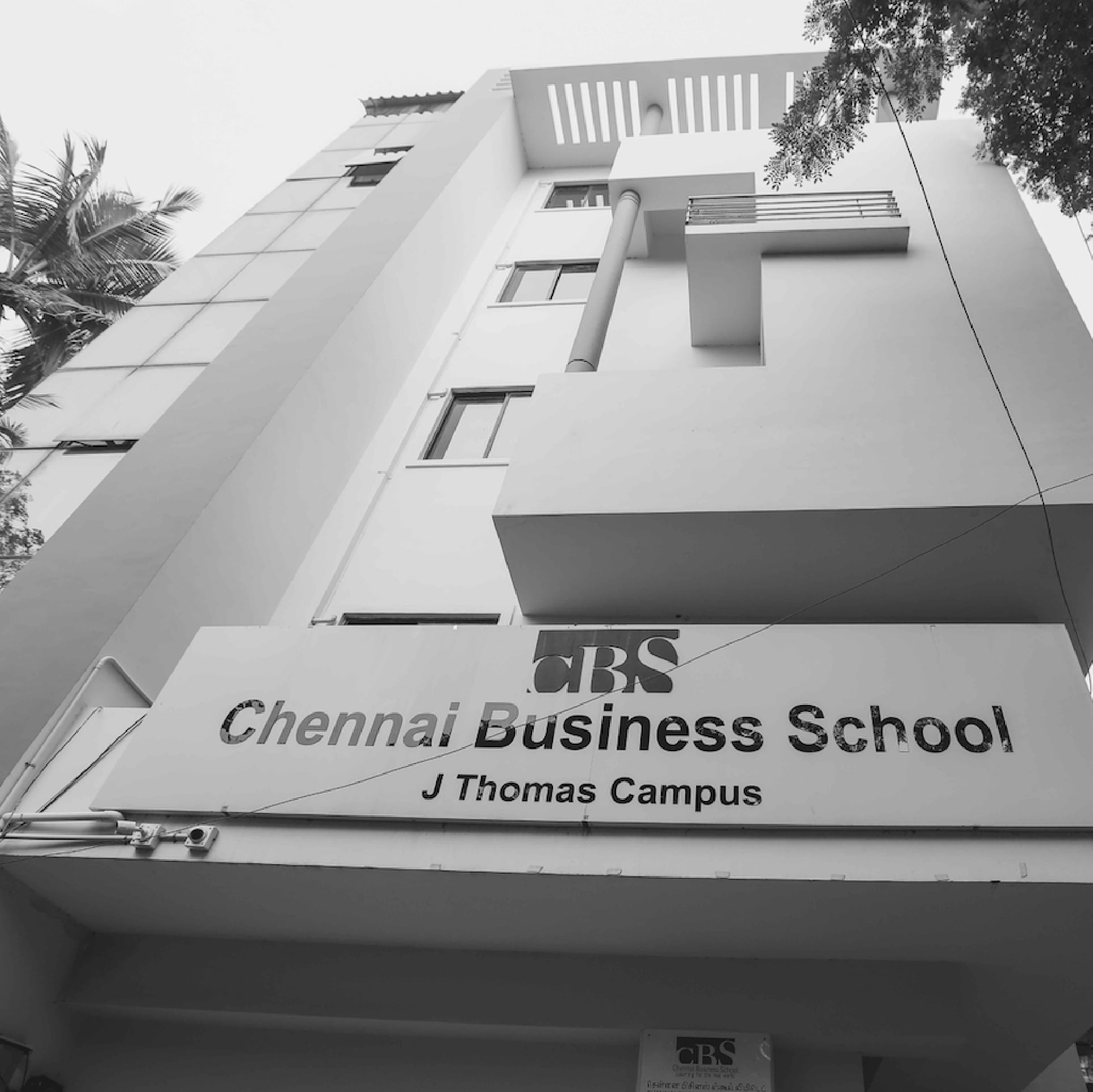 Chennai Business School campus is the top business school in chennai